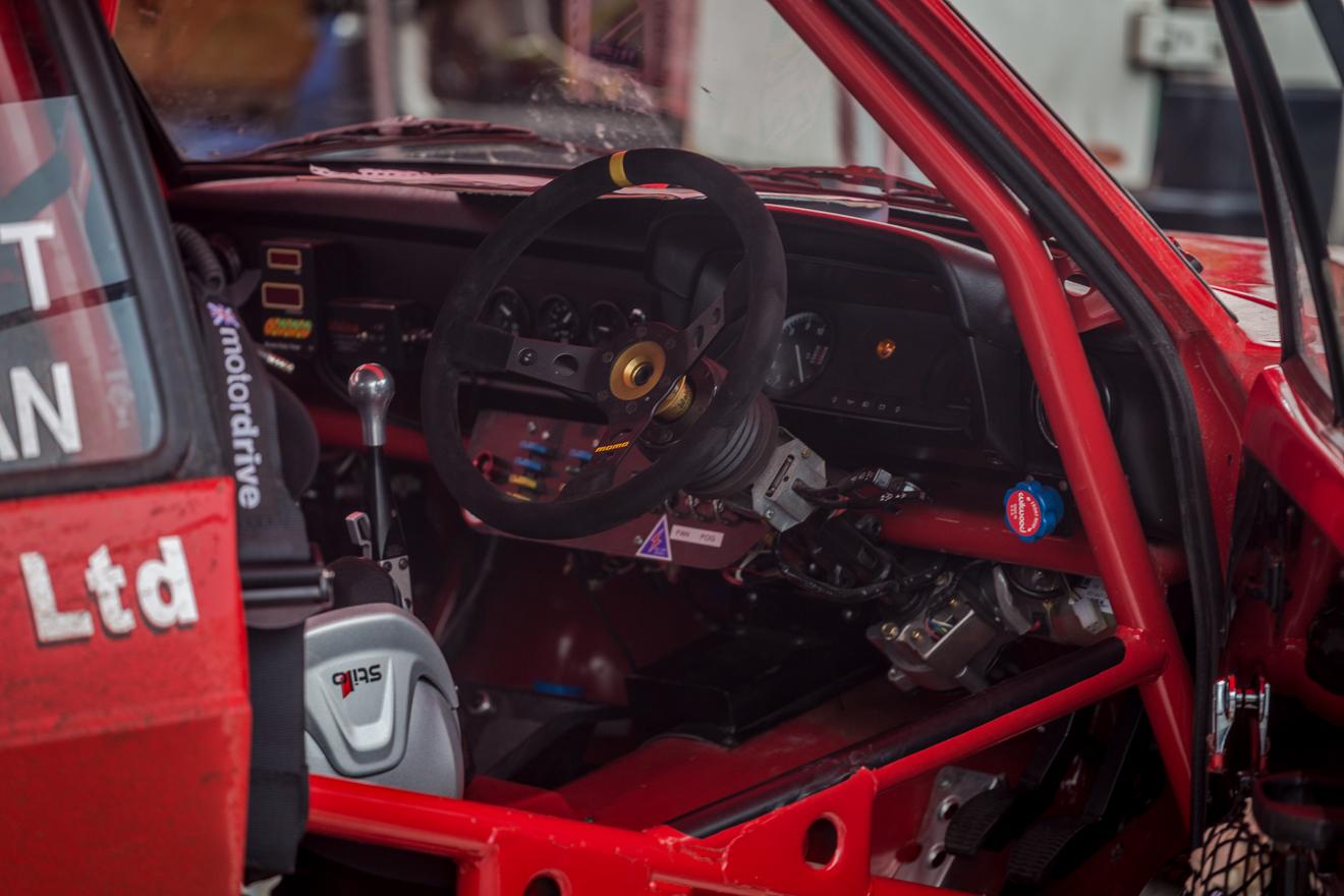 Ford Mk2 Escort Interior