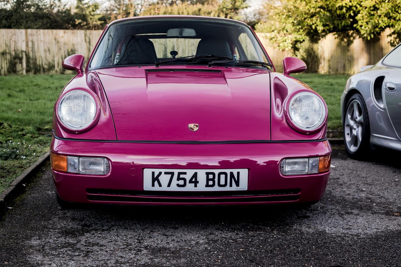 Rubine Red Porsche 964