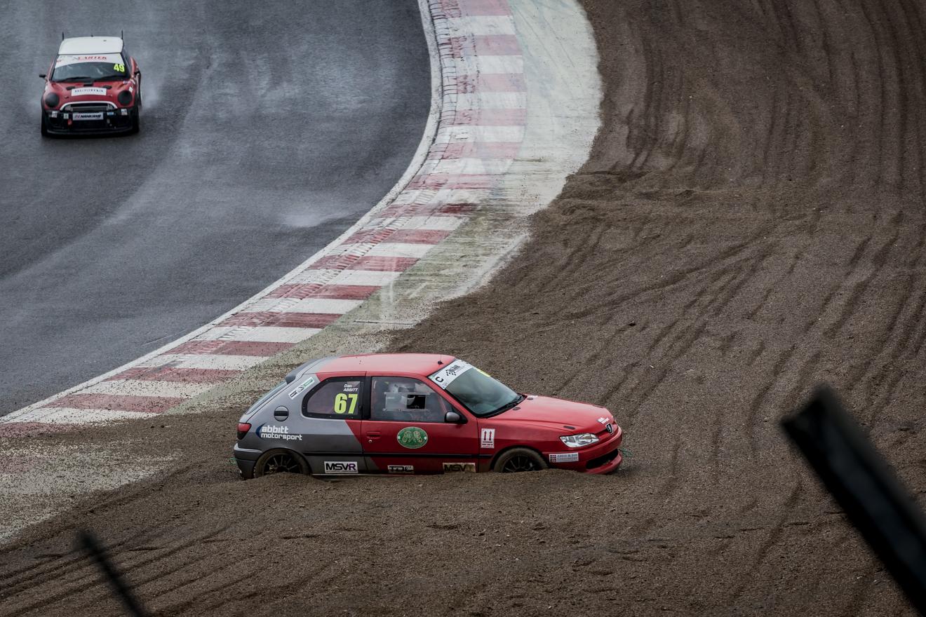 Peugeot 306 in the gravel
