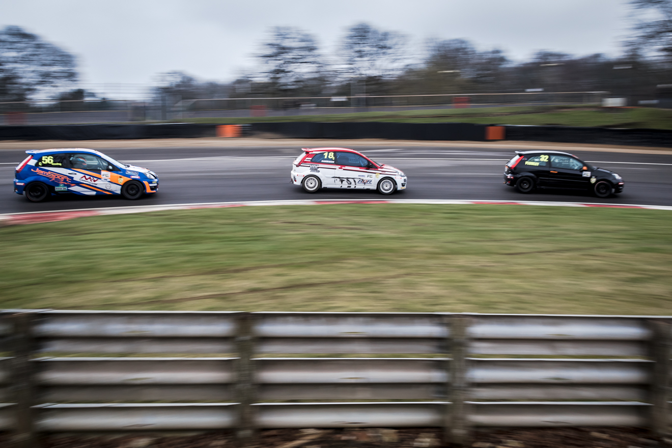 Ford Fiesta Championship racing at Brands Hatch