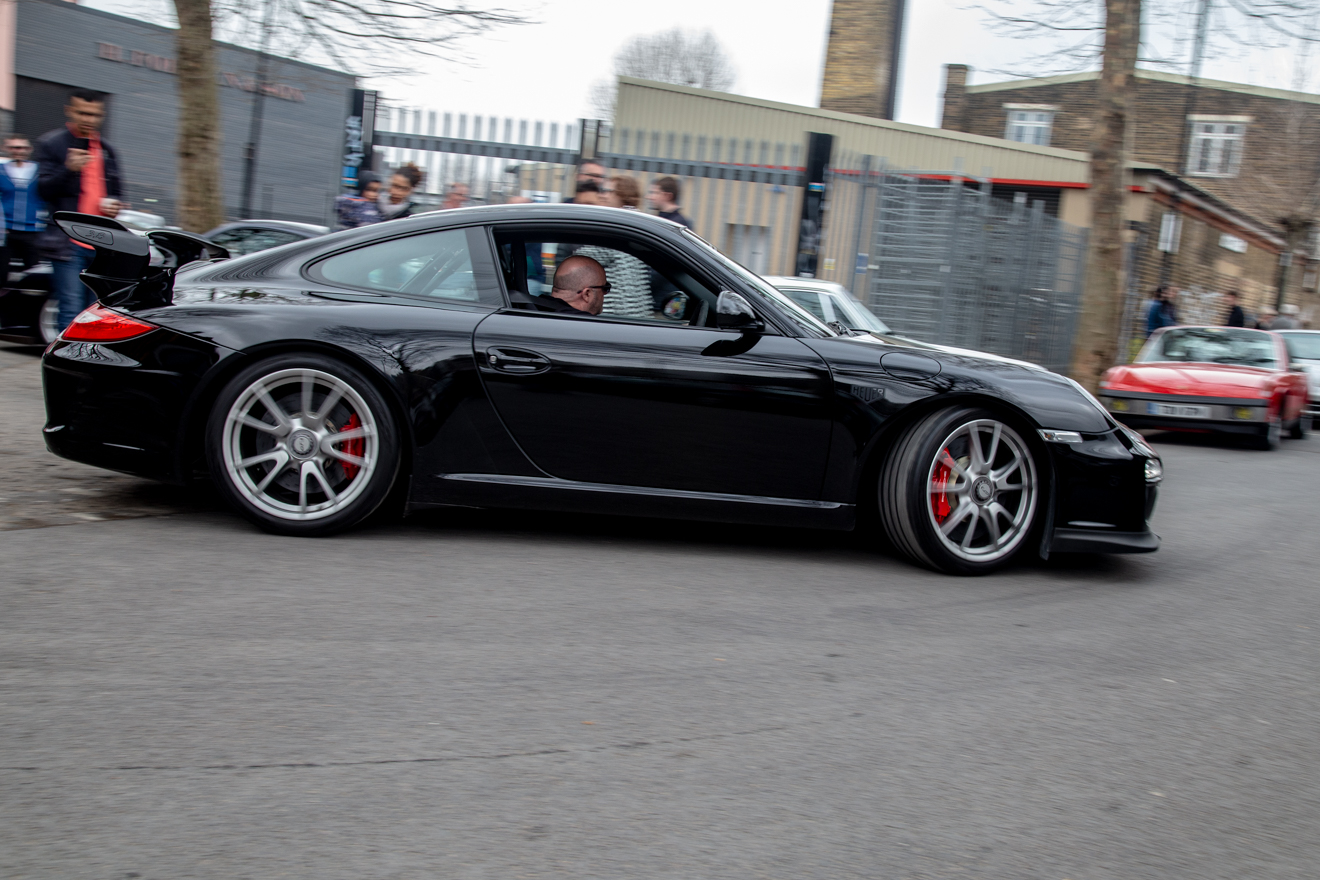 GT3 leaving the Out East meet-up
