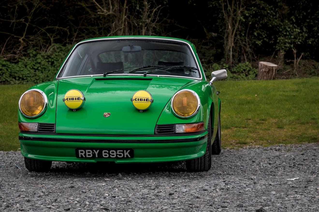 Viper green Porsche 911
