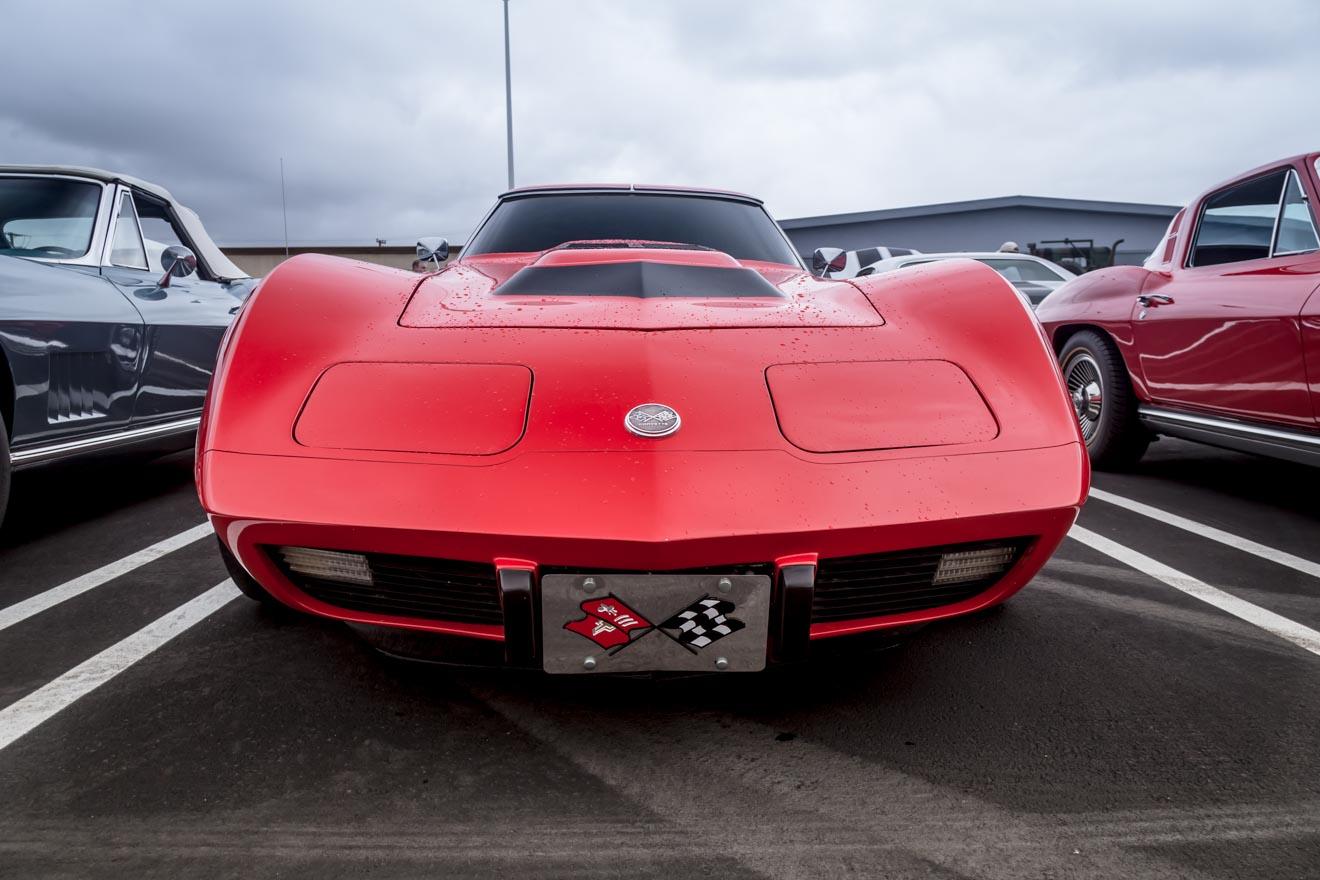 Not so little red Corvette