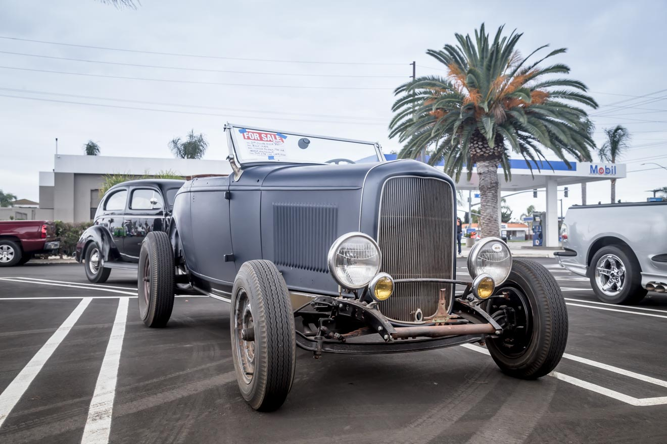 32 Ford roadster for sale at Donut Derelicts