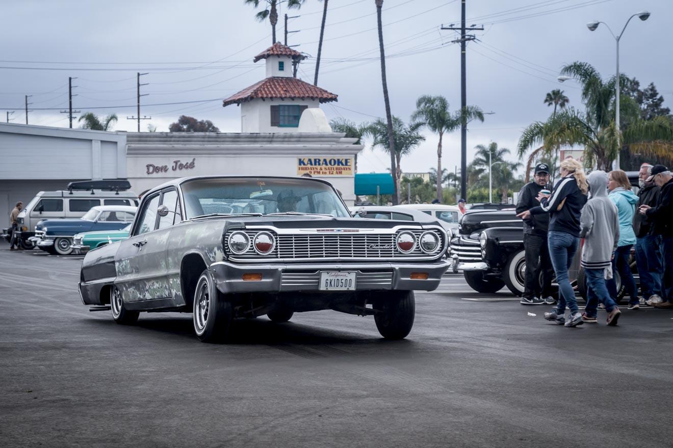 Tail dragging 1963 Chevy Impala