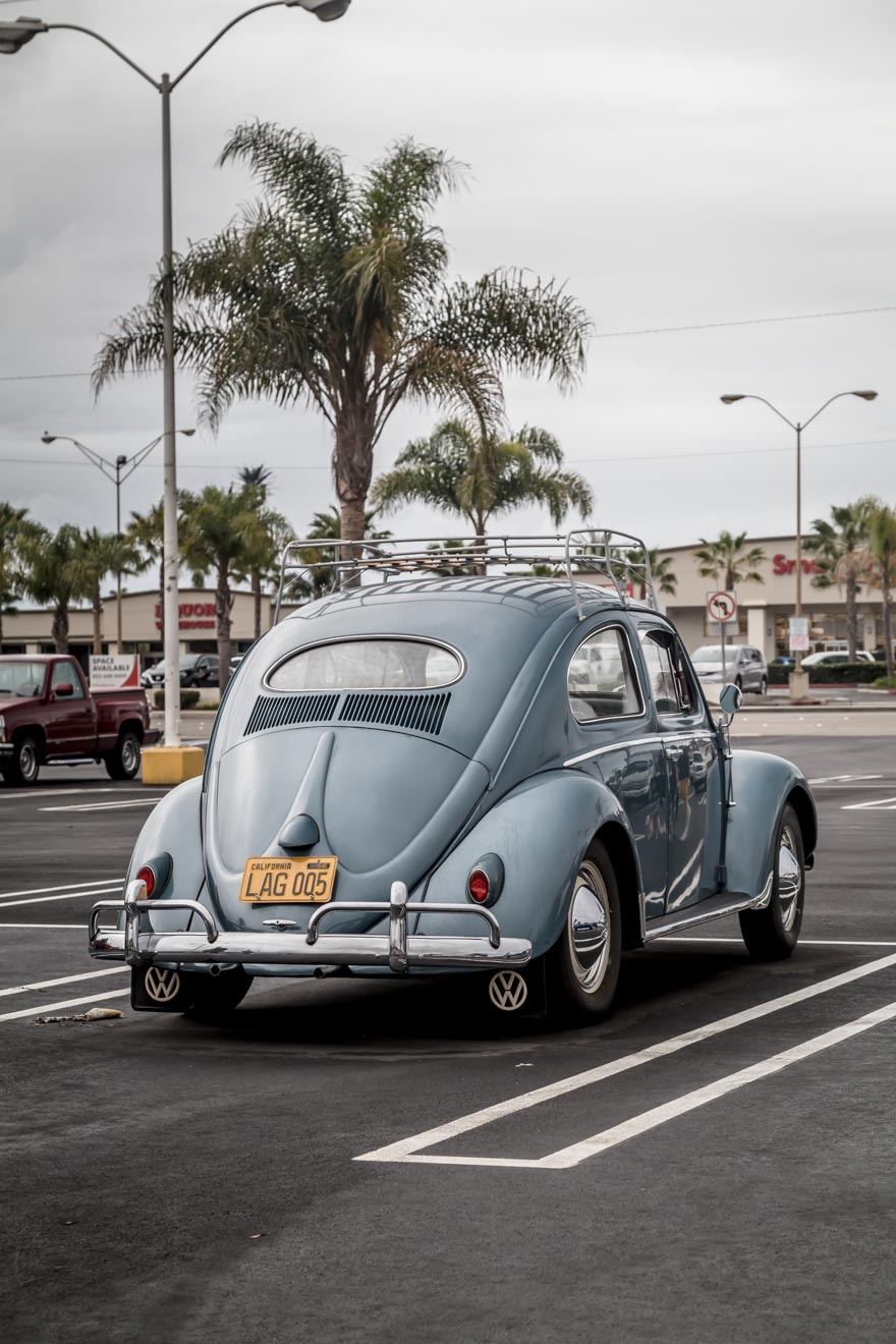 Blue 1956 VW Oval