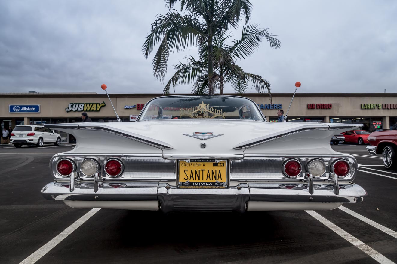 1960 Chevy Impala tail fins
