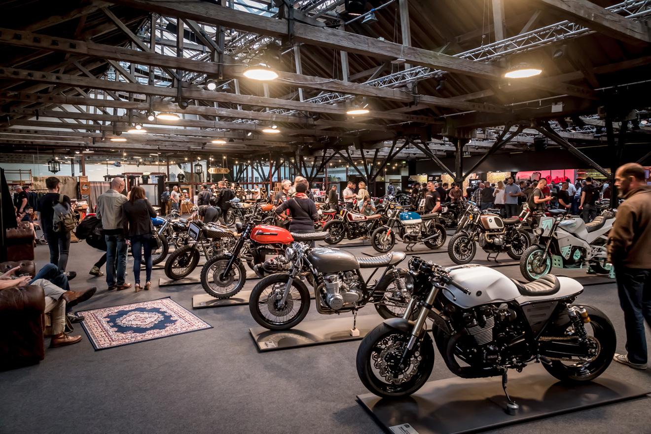 Bike Shed London main hall