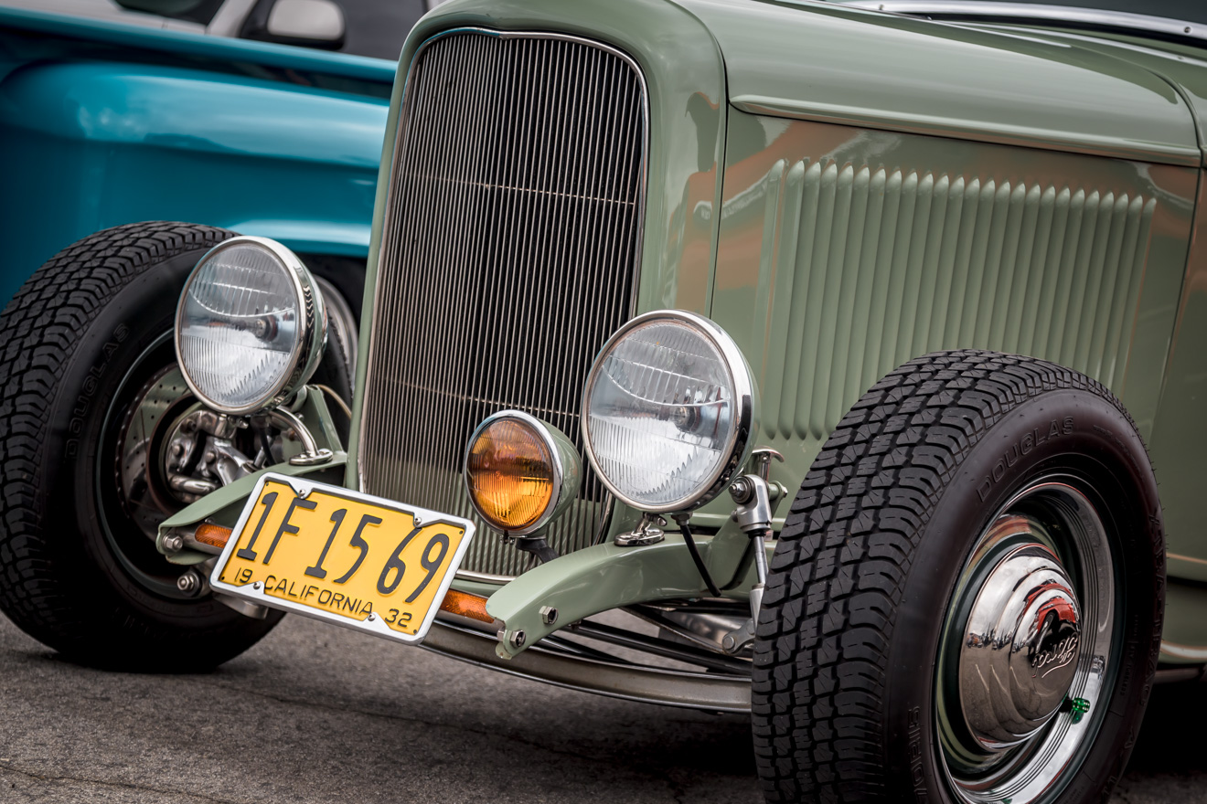Front grill 1932 Ford coupe