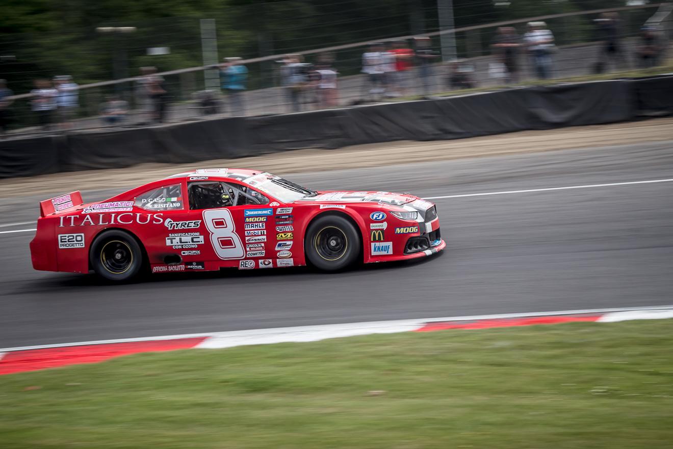 Nas car Whelen Euro Series car racing at Brands Hatch