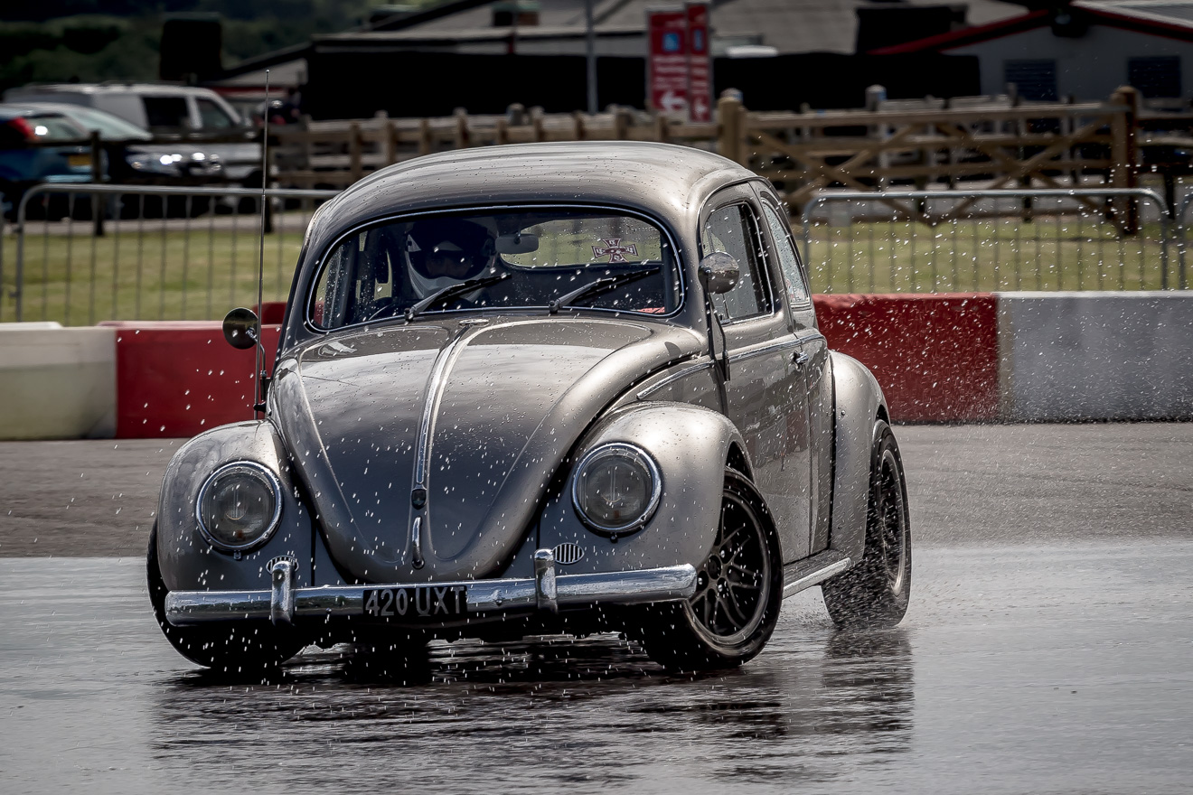 Turbo powered 1956 Oval VW Beetle
