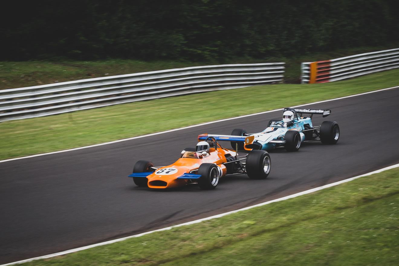 Historic Formula 2 race cars