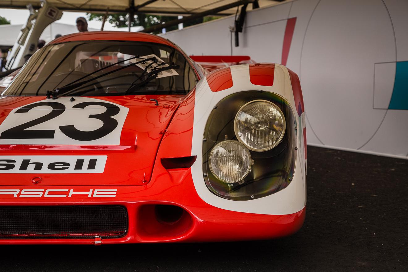 Front end of Porsche 917-23